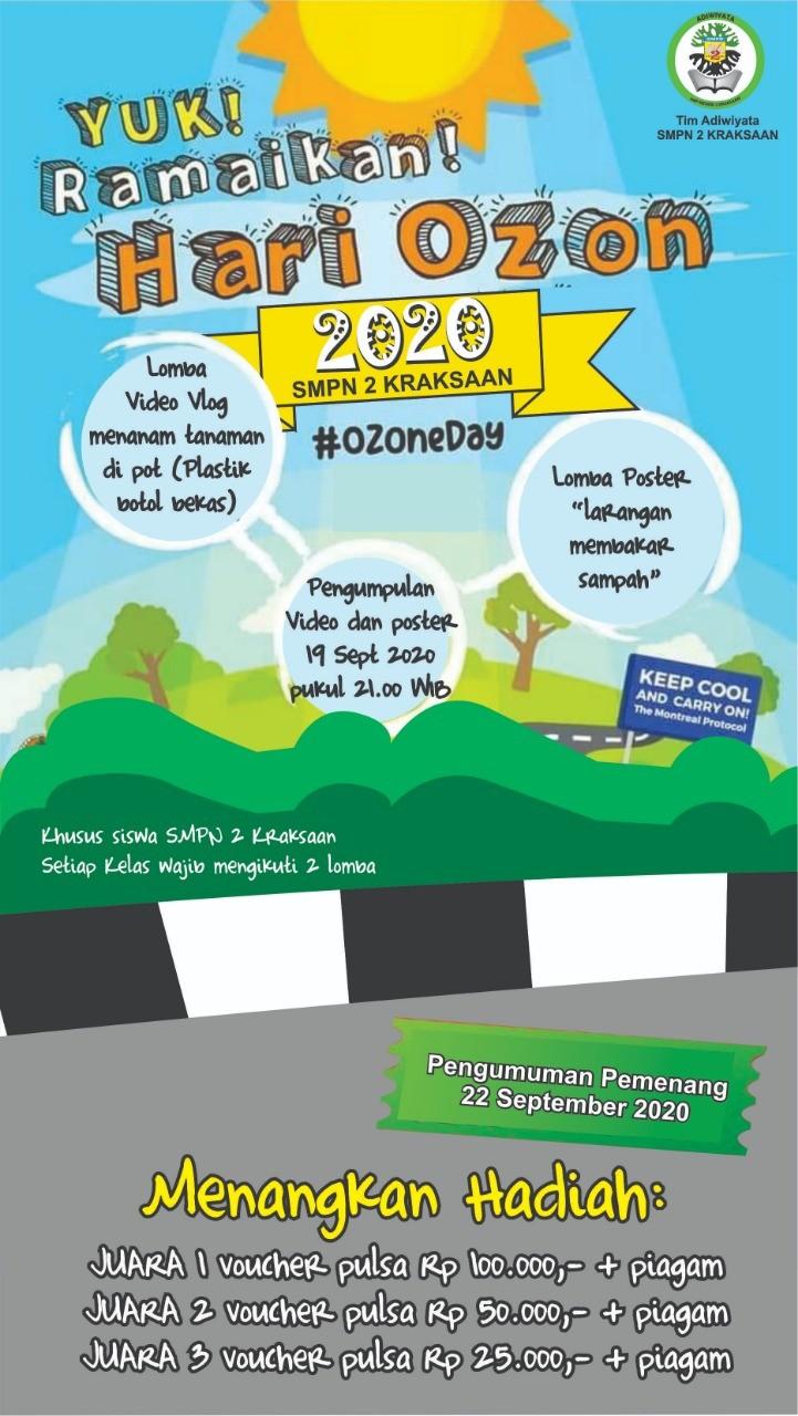 Perayaan Hari Ozon Sedunia 2020
